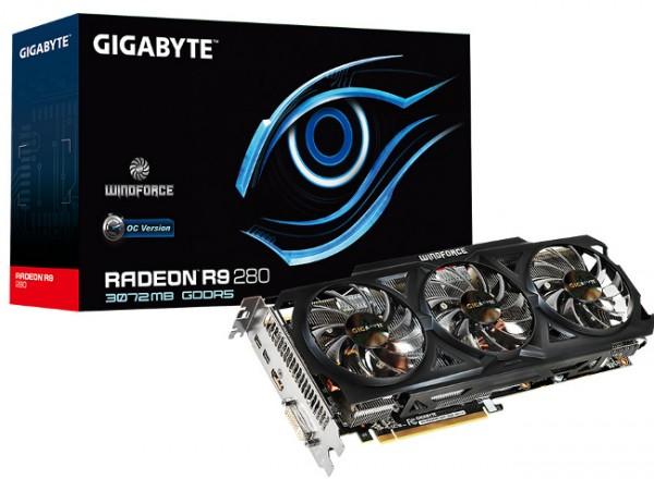 Gigabyte Radeon R9 280 WindForce OC (R928WF3OC-3GD)
