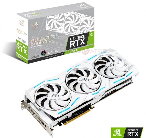 ASUS GeForce RTX 2080 Ti ROG Strix White Edition
