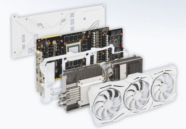 ASUS GeForce RTX 2080 Ti ROG Strix White Edition