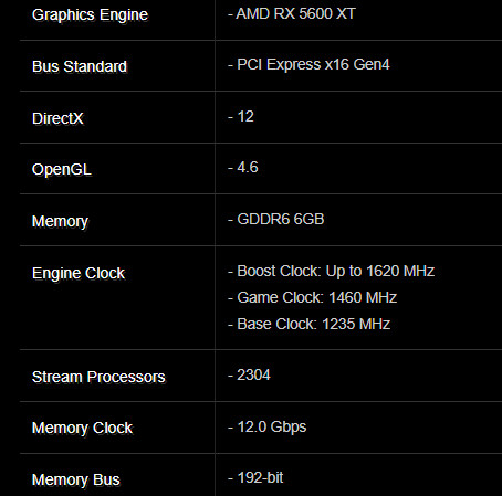 ASRock RX 5600 XT Challenger D