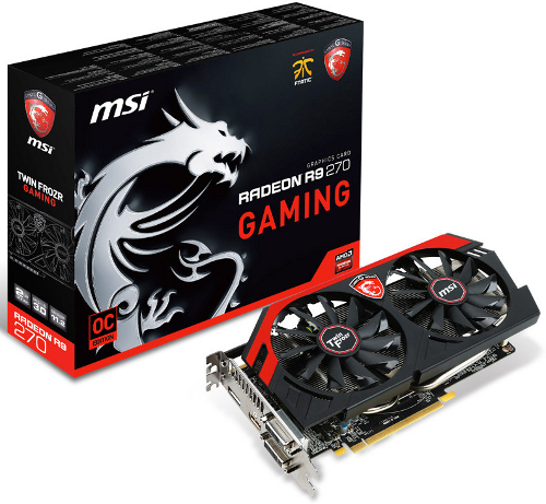 MSI Radeon R9 270 Gaming