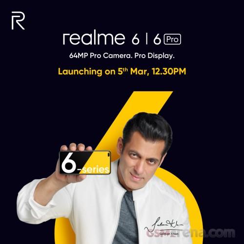 Realme 6 и Realme 6 Pro