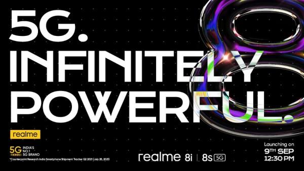 Realme 8s 5G и Realme 8i