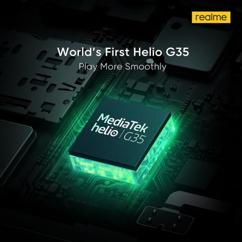 Realme C11, Helio G35, MediaTek