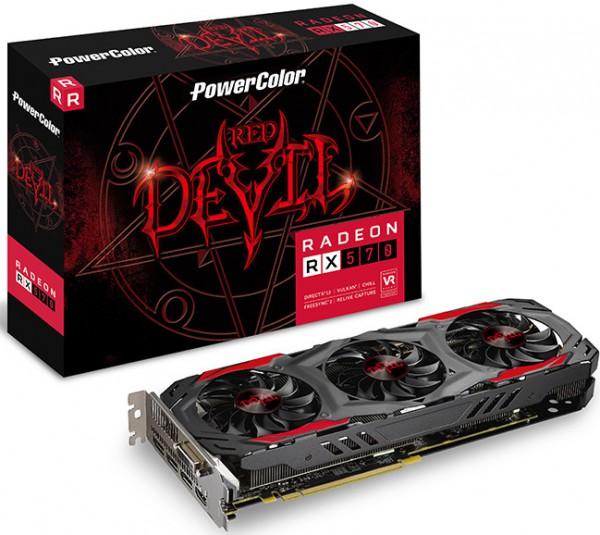 PowerColor Radeon RX 570 4 GB Red Devil