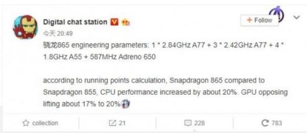 Snapdragon 865, Qualcomm