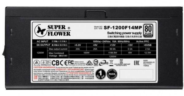 Super Flower Leadex Platinum SE1200W