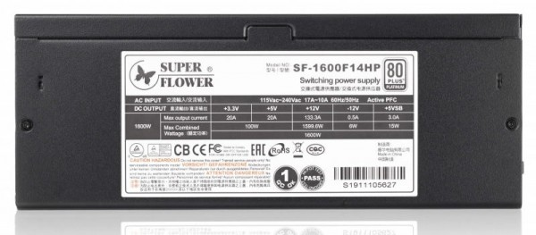 Leadex Platinum 1600W SF-1600F14HP