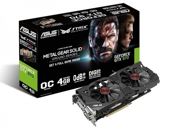 ASUS GeForce GTX 970 StriX (STRIX-GTX970-DC2OC-4GD5-SP)