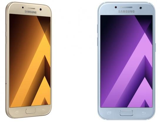 Samsung Galaxy A3 (2017), Galaxy A5 (2017), Galaxy A7 (2017)