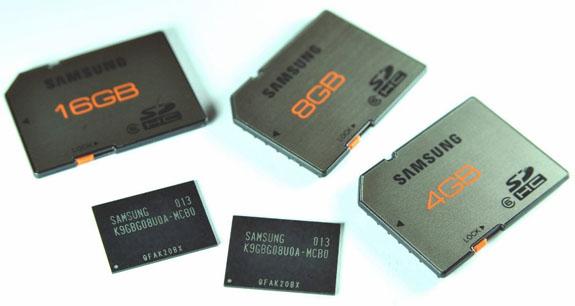 Продукция Samsung на 20-нм чипах памяти
