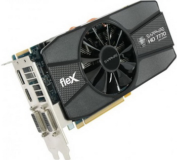 Sapphire FleX HD 7770 GHz Edition