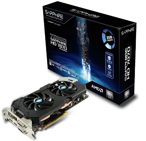 Sapphire Radeon HD 7870 GHz Edition TOXIC