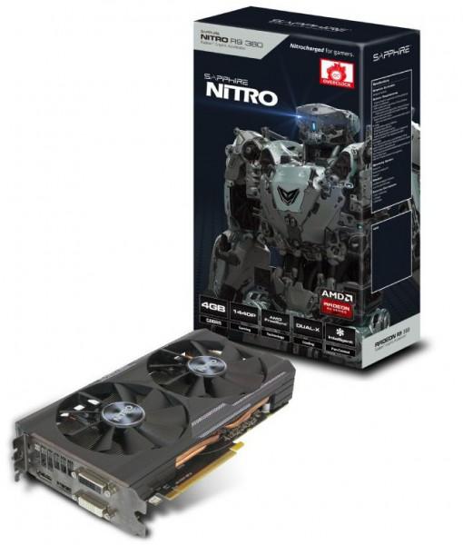 Sapphire Nitro R9 380 4G D5