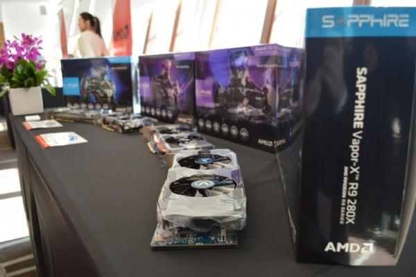 Sapphire R9 270X Vapor-X, R9 270X Dual-X, R9 280X Dual-X, R9 280X Vapor-X