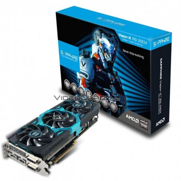 Sapphire Radeon R9 290X Vapor-X 8 Гбайт