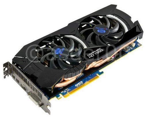 Sapphire, Radeon, HD 7950