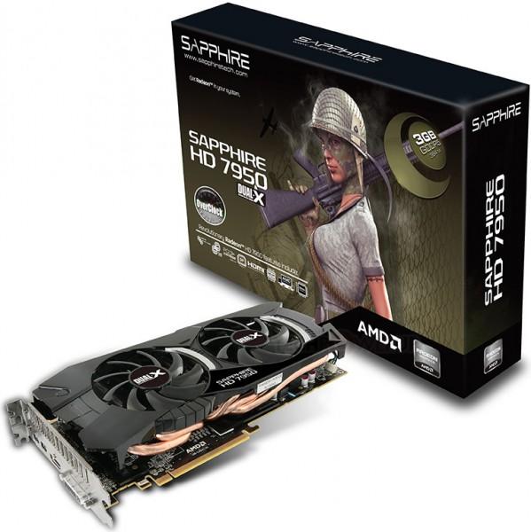 Sapphire HD 7950 Dual-X OC