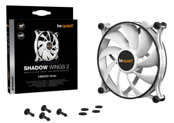be quiet! Shadow Wings 2 White