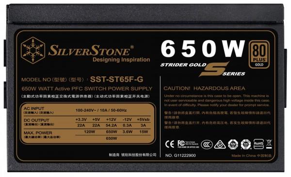SilverStone, Strider Gold S, ST55F-GS, ST65F-GS