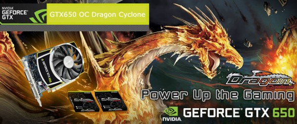 Sparkle GeForce GTX 650 OC Dragon Cyclone