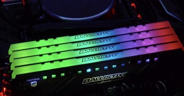 Ballistix Tactical Tracer RGB DDR4