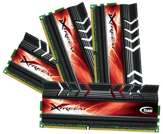 Team Group Xtreem LV DDR3 2600 Quad-Channel CL10
