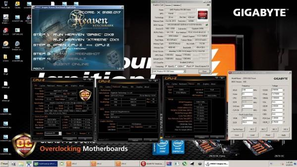 Unigine Heaven – Xtreme Preset (3х GPU)