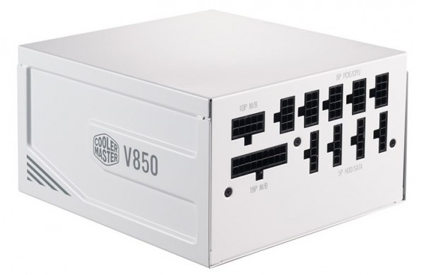 Cooler Master V750 Gold V2 White Edition и V850 Gold V2 White Edition