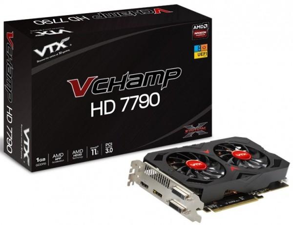 VTX3D Radeon HD7790 V Champ