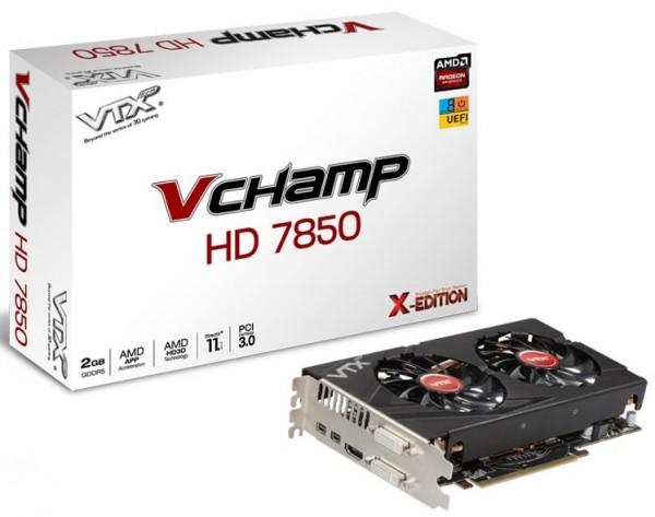 VTX3D Radeon HD7850 V Champ