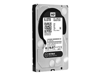 WD Black 6 TB (WD6001FZWX)