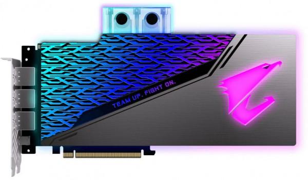 Gigabyte GeForce Aorus RTX 2080 SUPER WaterForce WB