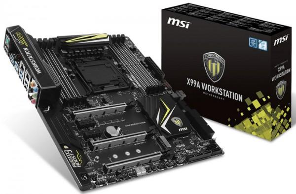 MSI X99A Workstation