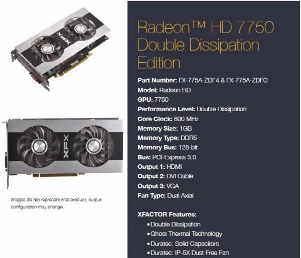 XFX Radeon HD 7700