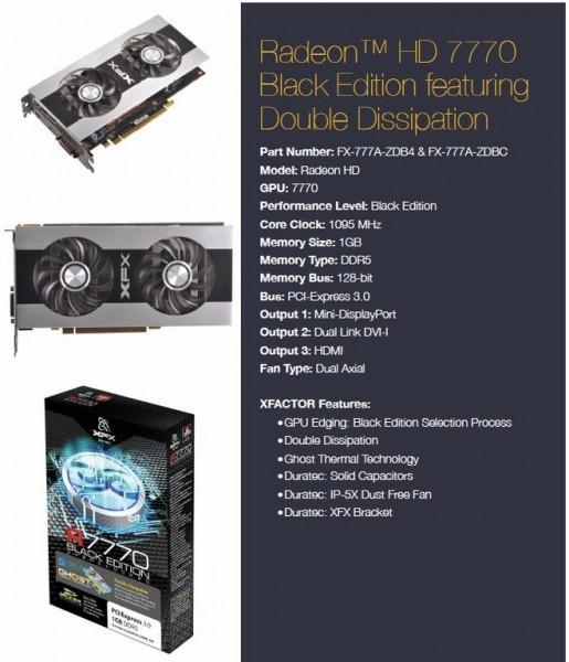 XFX, Radeon, HD 7700