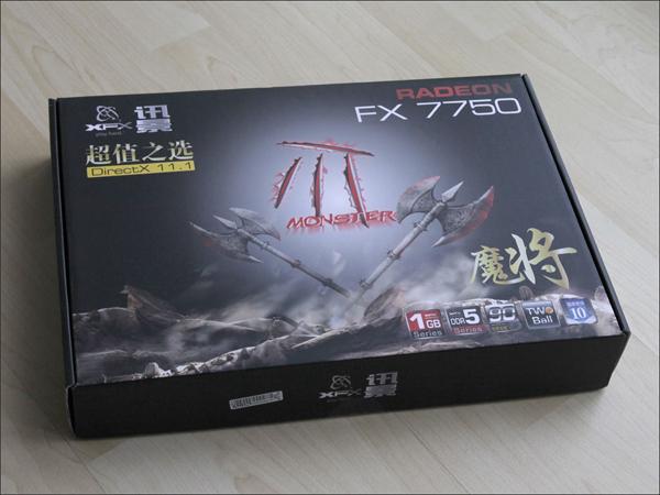 XFX Radeon FX 7750 Monster