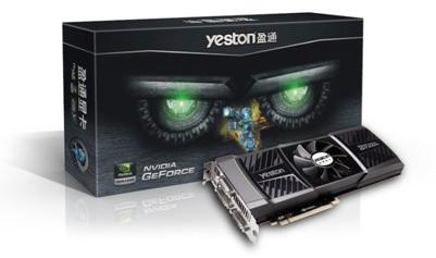 Видеокарта Yeston GeForce GTX 590
