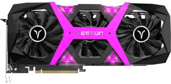 Yeston Radeon RX 5500 XT GameAce
