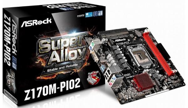 ASRock Z170M-PIO2