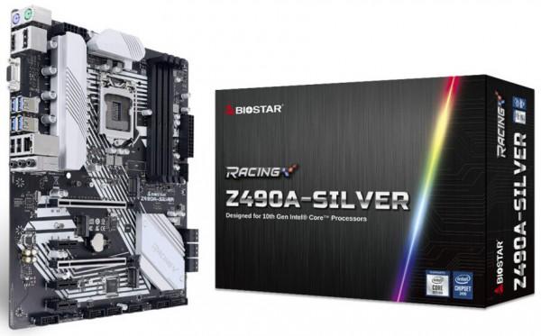 Biostar Racing Z490A-SILVER