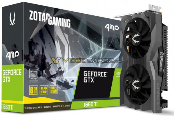 Zotac GeForce GTX 1660 Ti AMP
