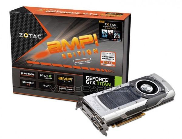 Zotac GeForce GTX TITAN AMP!