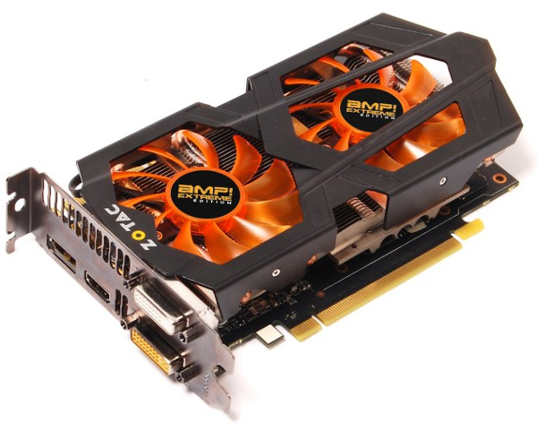 Zotac GeForce GTX 660 Ti AMP! Extreme Edition