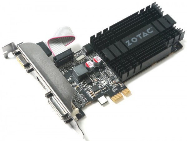 Zotac GeForce GT 710 ZONE Edition 1GB DDR3 LP (ZT-71304-20L)