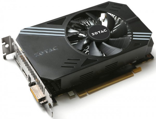 Zotac, GeForce GTX 950 Single Fan, ZTGT950-2GD5LOW001ZT-90608-10L