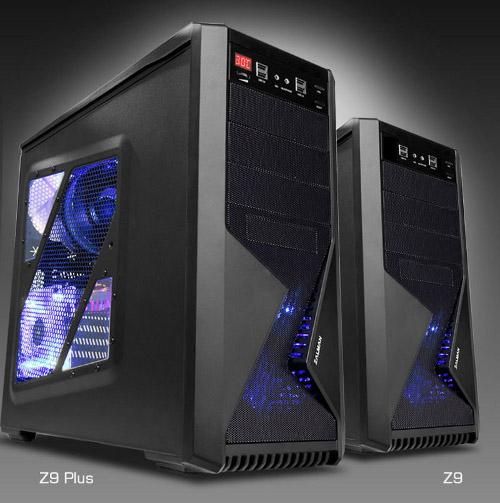 Корпус Zalman Z9 и Z9 Plus