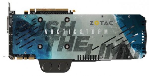 Zotac GeForce GTX TITAN-X ArcticStorm