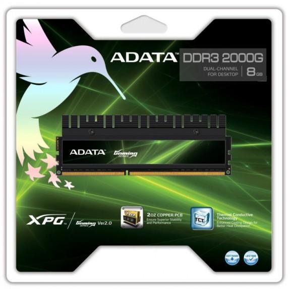 Оперативная память A-Data 8ГБ DDR3-2000G