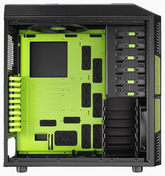 Корпус XPredator Evil Green Edition